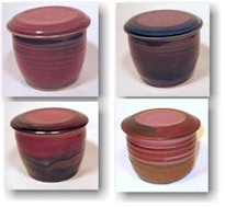 Variations from Copper Red glazes