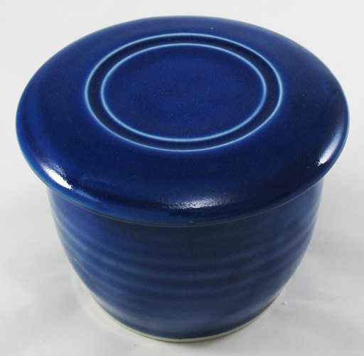 Cobalt Blue French Butter Dish