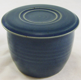 Sea Blue French Butter Dish